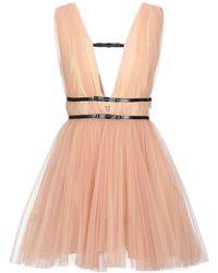 BROGNANO Short Dress - Orange