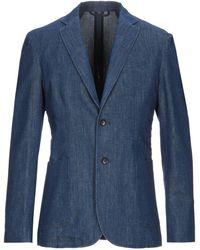 Dondup Suit Jacket - Blue