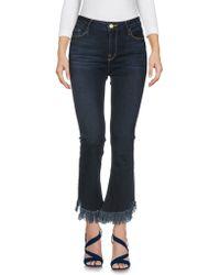 FRAME Capri jeans - Blu