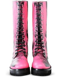 Moschino Boots - Pink