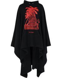 Palm Angels Capes & Ponchos - Black