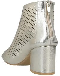Sexy Woman Ankle Boots - Metallic
