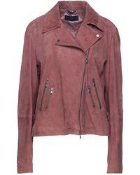 Blue Les Copains Jacke - Pink