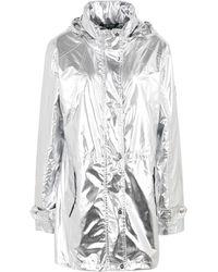 Lauren by Ralph Lauren Overcoat - Metallic