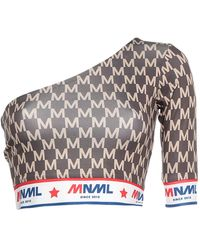 MNML Couture Top - Brown