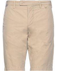 AT.P.CO Shorts & Bermuda Shorts - Natural