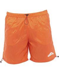 Heron Preston Swim Trunks - Orange