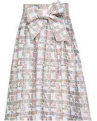 Anonyme Designers Midi Skirt - White