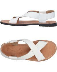 Virreina Sandals - White