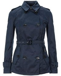 Allegri Overcoat - Blue