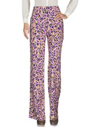 Peter Pilotto Casual Pants - Purple