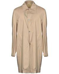 Versace Overcoat - Natural
