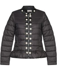 Relish Synthetic Down Jacket - Black