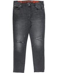 Superdry Pantaloni jeans - Grigio