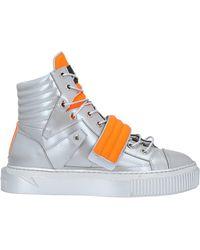 METAL GIENCHI Sneakers & Tennis shoes alte - Metallizzato