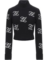Fendi Turtleneck - Black