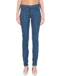 Roseanna Denim Pants - Blue