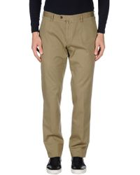 Flowers London - Casual Trousers - Lyst