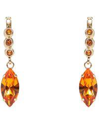 8 by YOOX Earrings - Orange