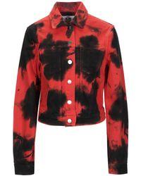 PROENZA SCHOULER WHITE LABEL Denim Outerwear - Red