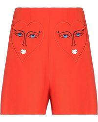 Vivetta Pantalones cortos y bermudas - Rojo