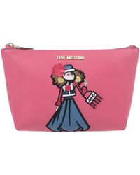 Love Moschino Beauty Case - Pink