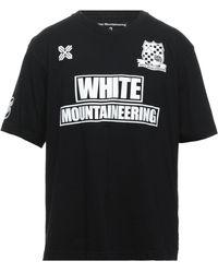 White Mountaineering Camiseta - Negro