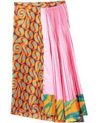 Marni 3/4 Length Skirt - Multicolour