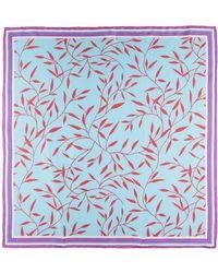 Diane von Furstenberg Square Scarf - Blue