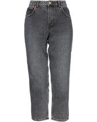 Cheap Monday Pantalones vaqueros - Gris