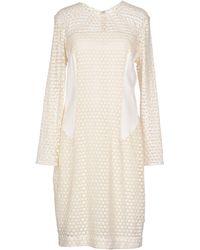 By Malene Birger Knee-length Dress - Natural