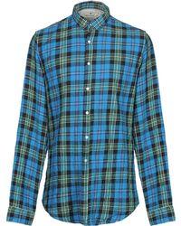Macchia J Shirt - Blue