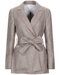 CASASOLA Suit Jacket - Brown