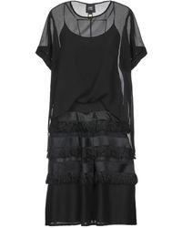 Class Roberto Cavalli Midi Dress - Black