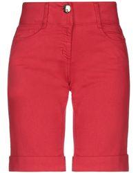 Blugirl Blumarine Short en jean - Rouge