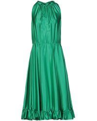 MSGM Midi Dress - Green