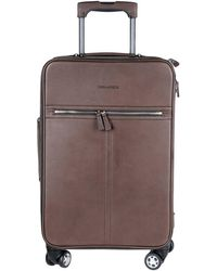 DSquared² Wheeled luggage - Brown