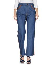 Prada Denim Trousers - Blue