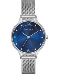 Skagen Orologio da polso - Blu