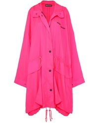 House of Holland Overcoat - Pink
