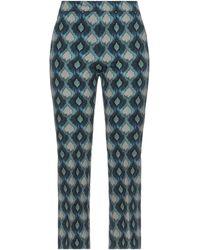 Maliparmi Cropped Pants - Blue