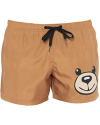 Moschino Swim Trunks - Brown
