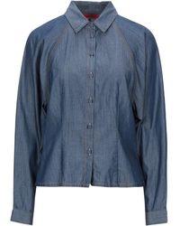 MAX&Co. Denim Shirt - Blue