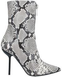 Unravel Project Ankle Boots - Grey