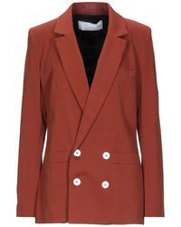 Societe Anonyme Suit Jacket - Brown