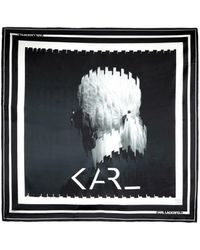 Karl Lagerfeld Foulard - Nero
