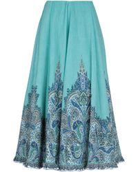 Zimmermann Long Skirt - Green