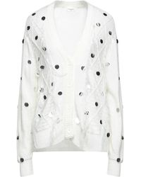 LE COEUR TWINSET Cardigan - White