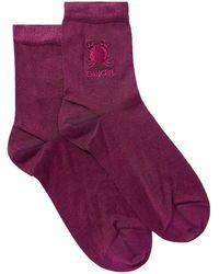 Maria La Rosa Socks & Hosiery - Purple