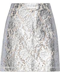 ANAЇS JOURDEN Mini Skirt - Metallic